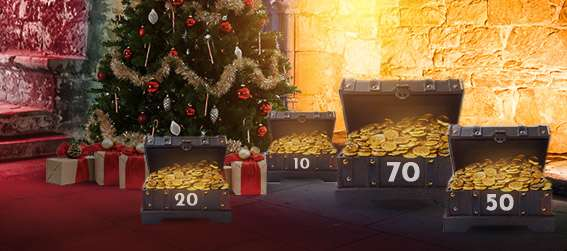 Ho-ho-ho. <br>Be rewarded with up to C$ 777, DAILY